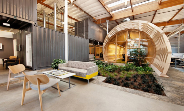 Eco-Friendly Office Space