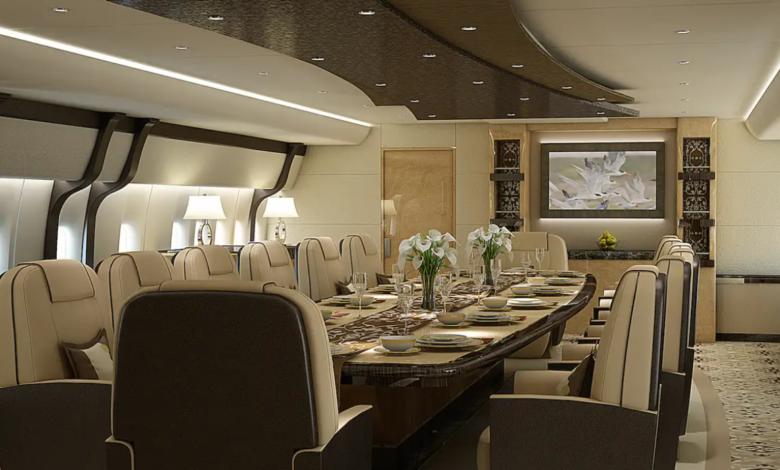 The Most Lavish Private Jet Present in the World