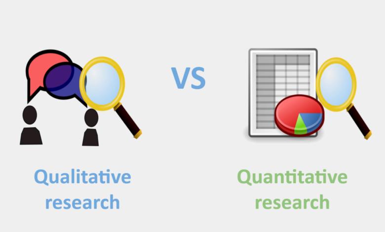 quantitative vs qualitative data