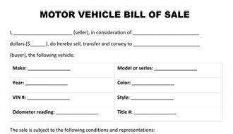 Car Bill